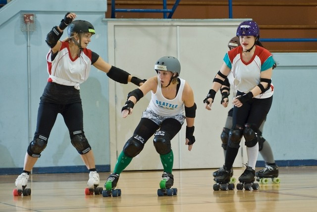 Roller derby is one of 10 disciplines governed by the FIRS ©FIRS