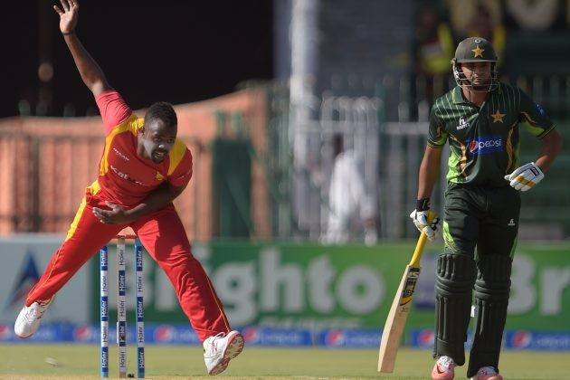 Vitori has taken 22 wickets in 13 one-day internationals for Zimbabwe ©ICC