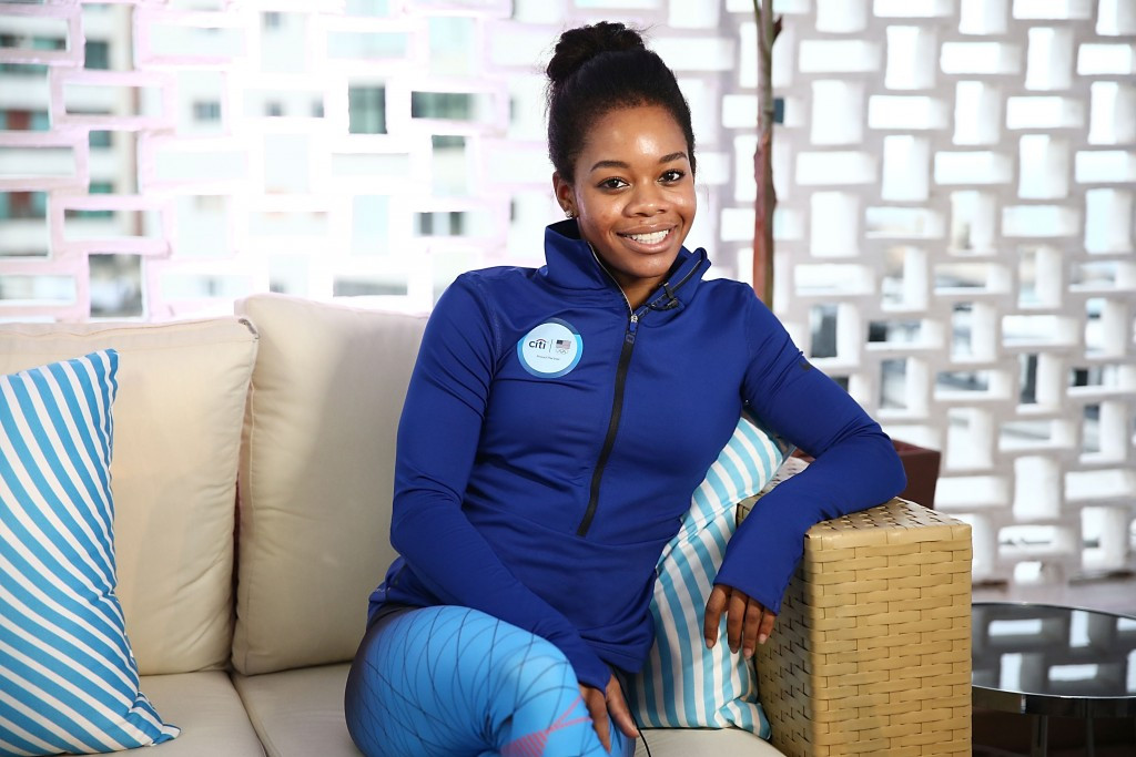 Three-time Olympic gold medallist Gabby Douglas of the United States has become the first ambassador of the Hack Harassment scheme ©Getty Images