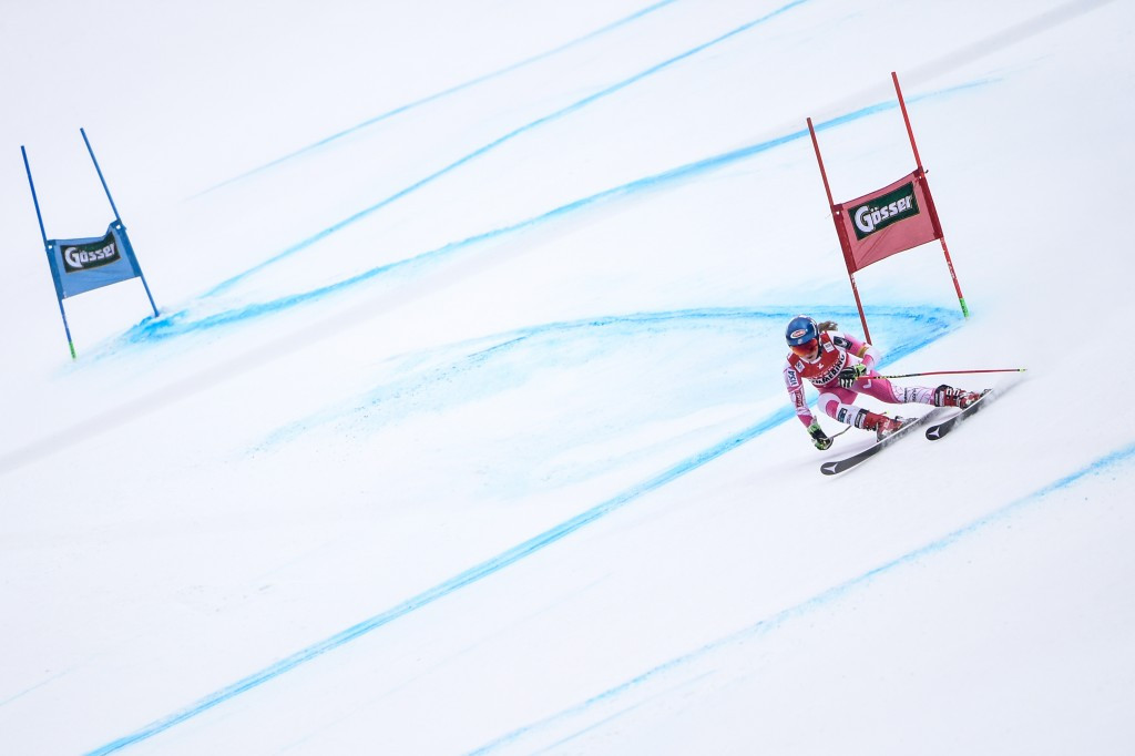 Mikaela Shiffrin of the United States won the women's giant slalom race in Semmering ©Getty Images