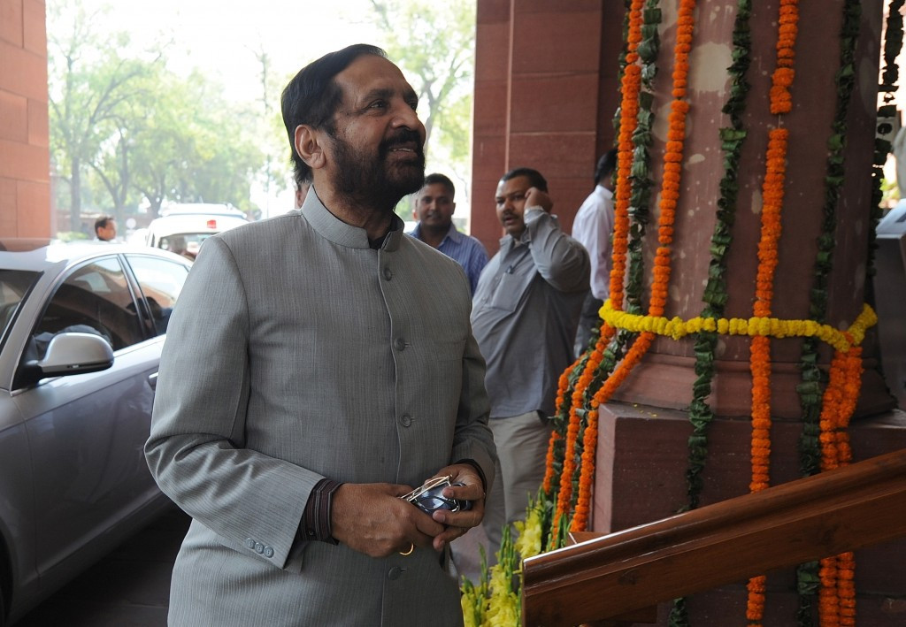 Former IOA chief Suresh Kalmadi has already declined the Honorary Life Presidency ©Getty Images