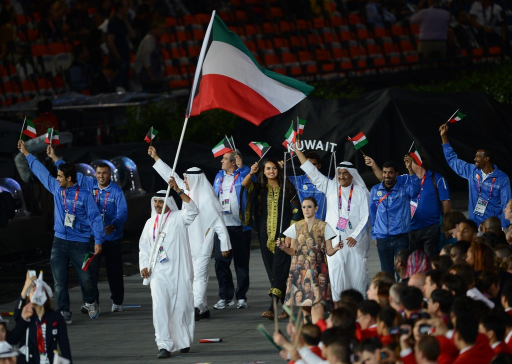 The International Olympic Committee has rejected a request by the Kuwaiti Government to temporarily lift a 14-month old sports ban on the country's athletes ©Getty Images