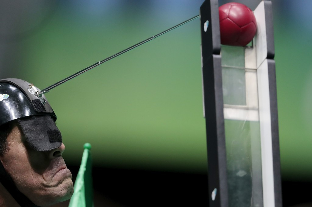 """David Hadfield claimed 2016 was the """"most successful year yet in the history of boccia"""" ©Getty Images"""