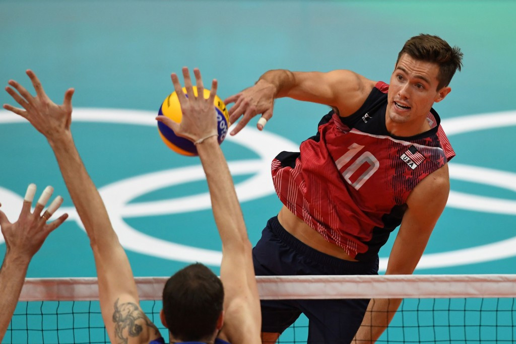 America won Olympic bronze medals in both the men's and women's indoor volleyball competitions Rio 2016 ©Getty Images