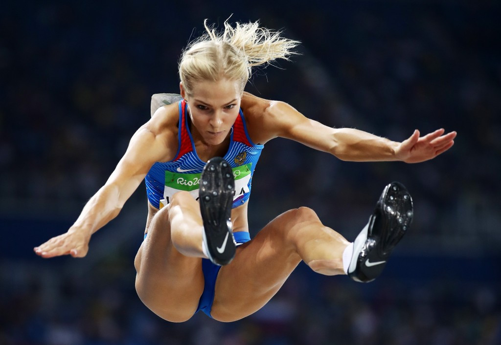 Darya Klishina was granted permission to take part at the Olympic Games in Rio de Janeiro ©Getty Images