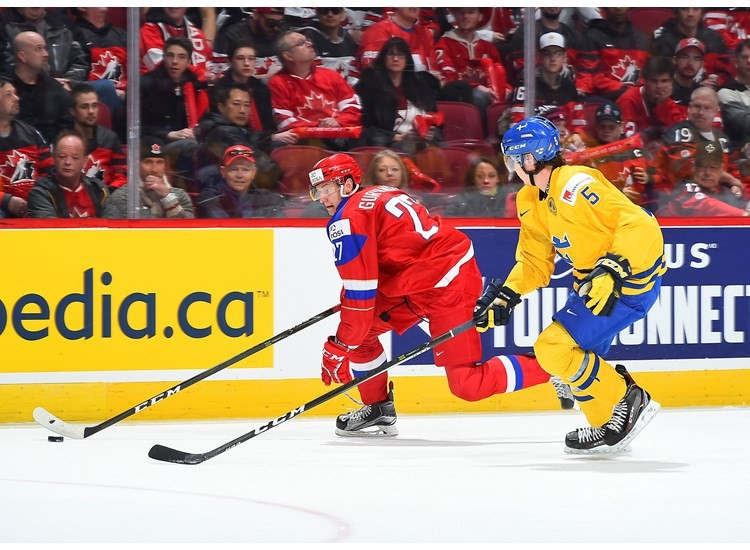 Russia defeated Sweden in overtime to win the bronze medal ©IIHF