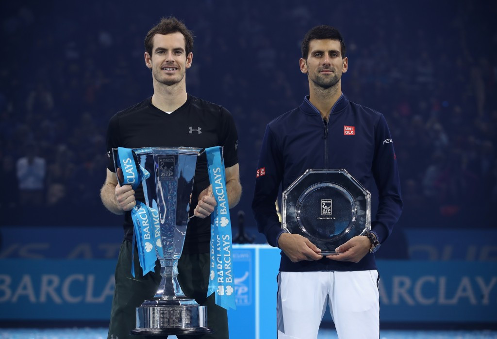 Britain's Andy Murray, left, has questioned the players' union Novak Djokovic, right, has set-up, saying it needs to include representatives from the women's game before he would think of joining it ©Getty Images