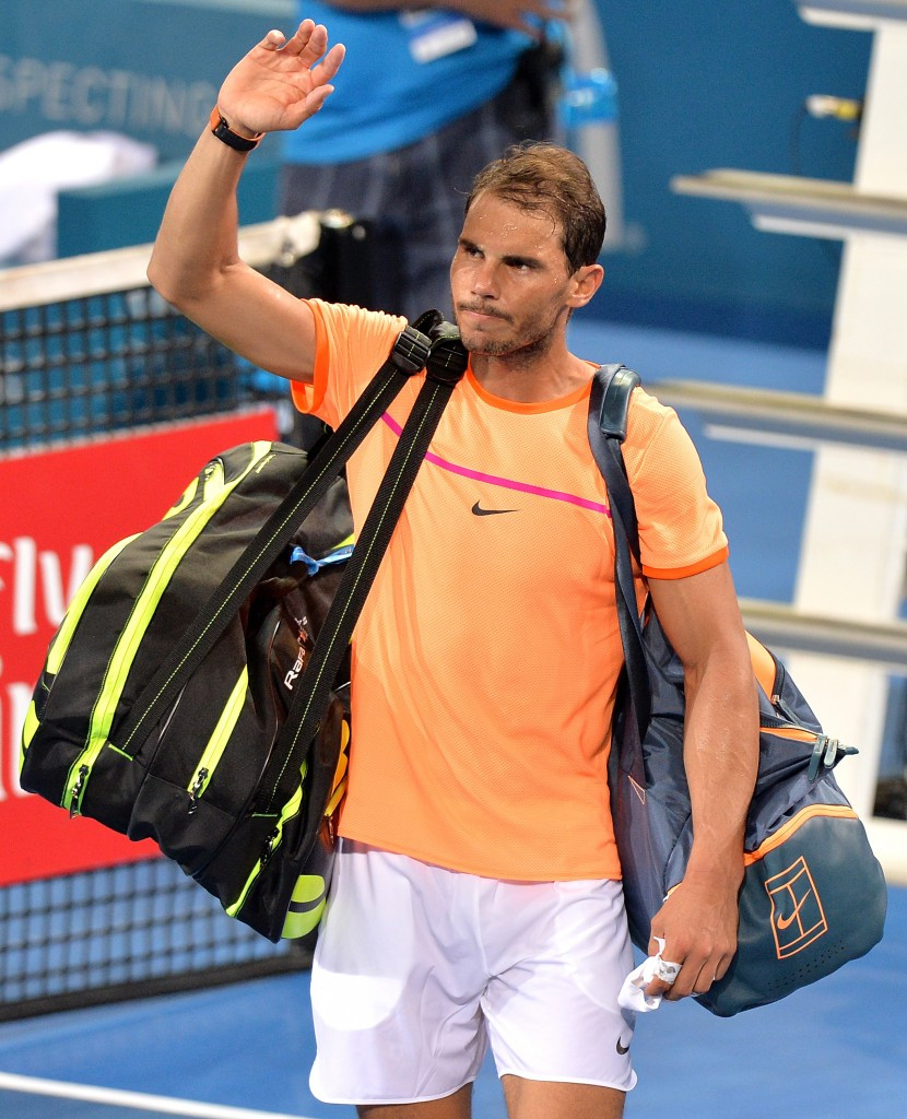 Rafael Nadal is among the star names to voice their concerns at the state of match-fixing in tennis ©Getty Images
