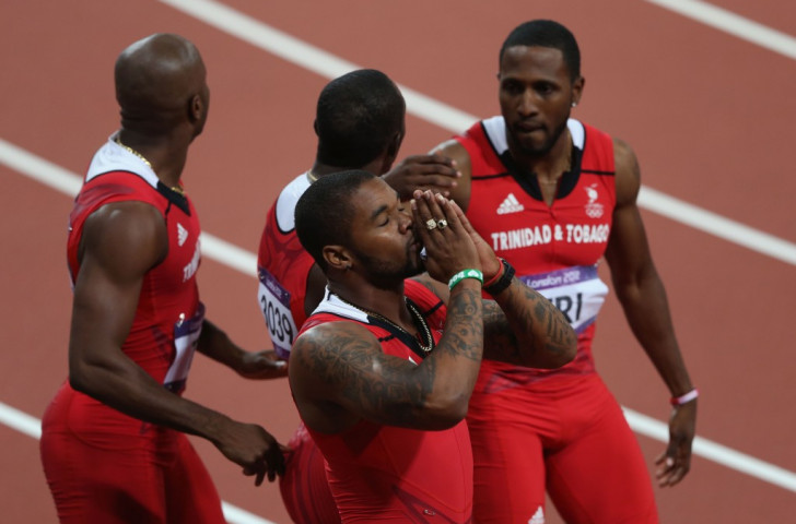 Trinidad and Tobago relay team officially upgraded to London 2012 Olympic silver medals following Tyson Gay doping ban