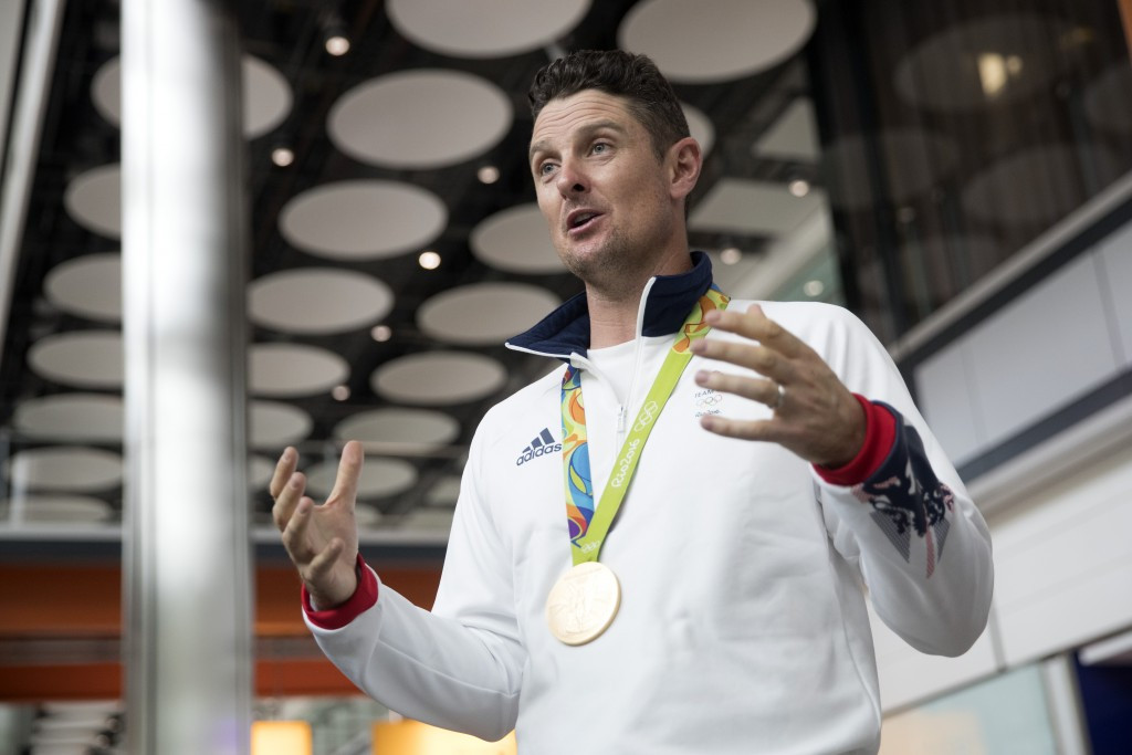 Britain's Justin Rose won the men's golf title at Rio 2016 ©Getty Images