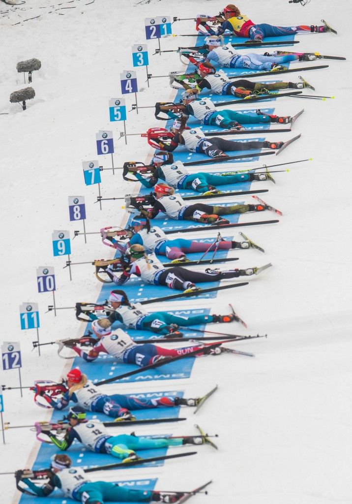 Oberhof held a World Cup event this weekend ©Getty Images