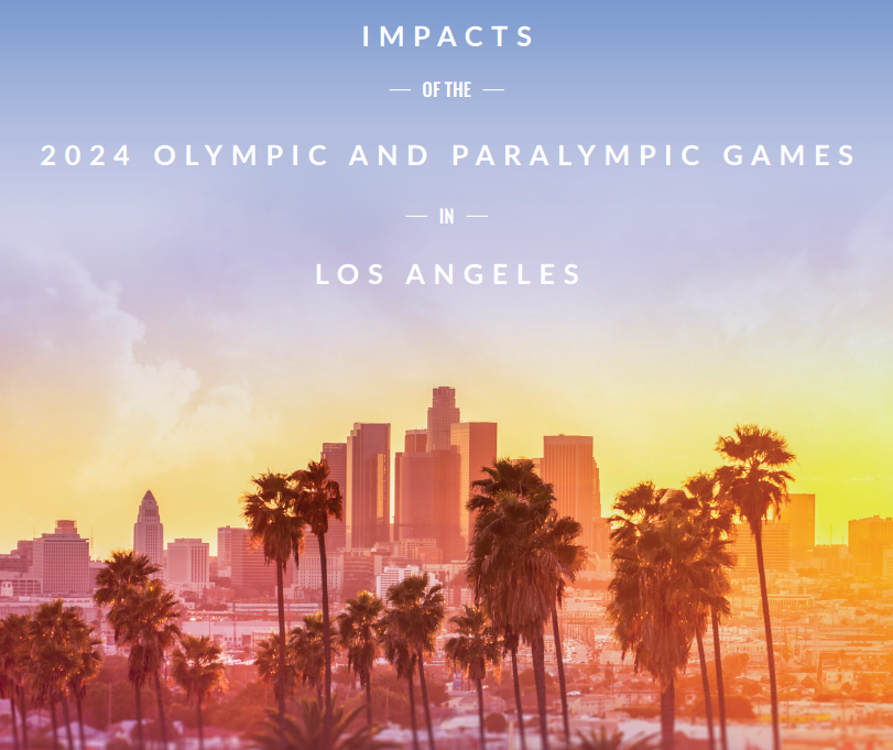 A report has claimed Los Angeles 2024 could increase economic output by $18.3 billion nationwide ©Los Angeles 2024
