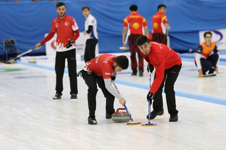 Turkey impressed to reach the men's semi-finals at the World Junior B Curling Championships ©WCF/Facebook