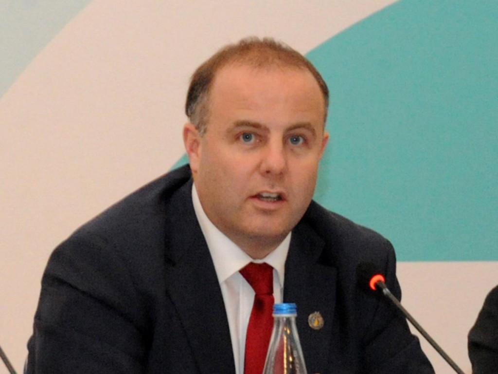 Pierce O'Callaghan was director of sport at Baku 2015 ©Baku 2015