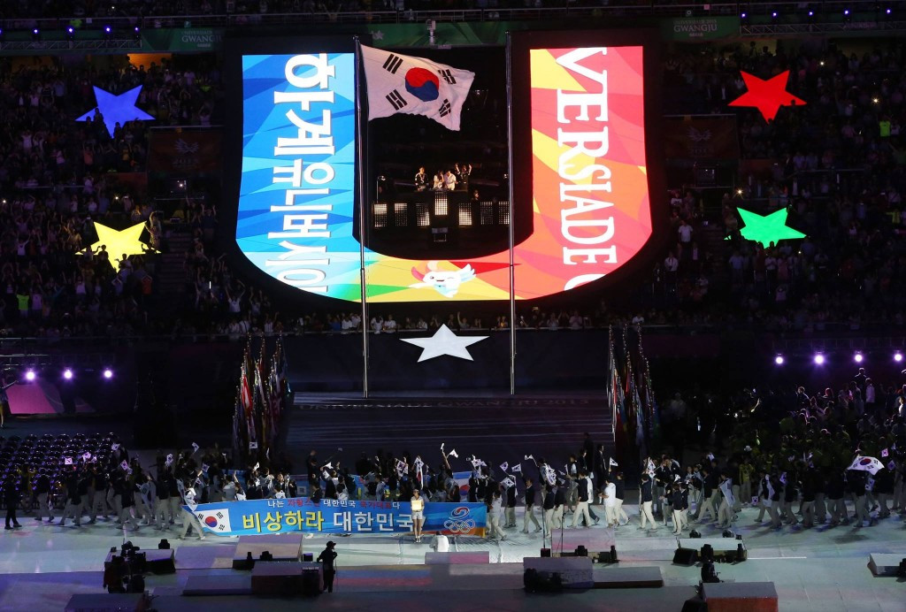 Gwangju 2015 opened by South Korean President at spectacular Ceremony