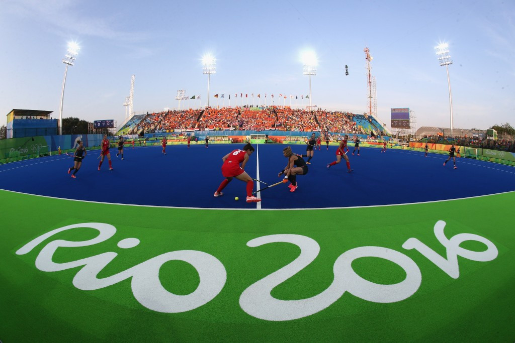 The Olympic Hockey Centre also formed part of the Deodoro venue cluster ©Getty Images