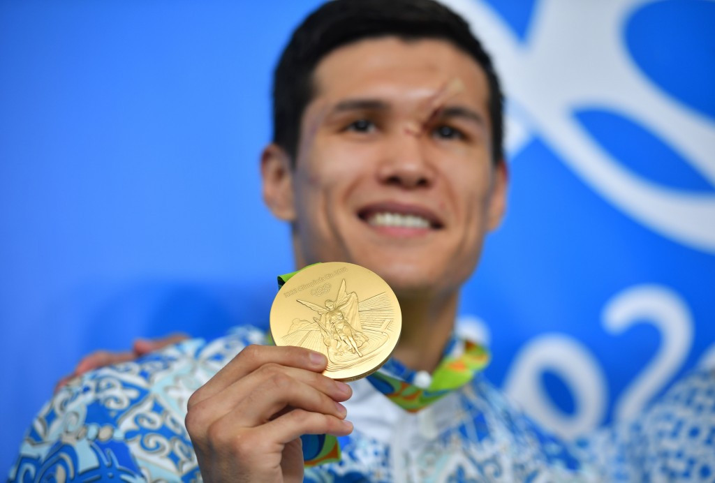 Kazakh Olympic champion to join professional boxing ranks