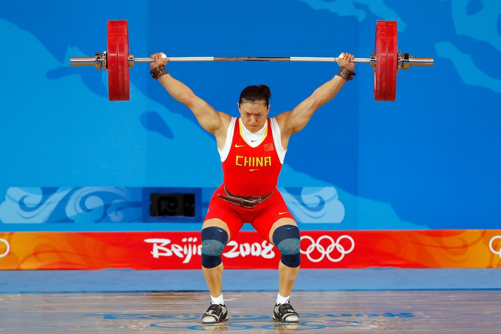 Six weightlifters, including three Chinese Olympic gold medallists, are among the athletes to have been sanctioned by the IOC following the latest batch of re-tests from Beijing 2008 and London 2012 ©Getty Images