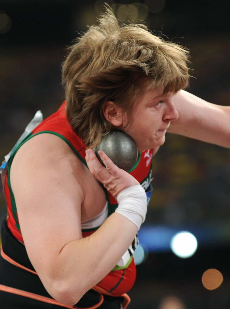Nadzeya Ostapchuk, the women's shot put bronze medallist at Beijing 2008, has been disqualified ©Getty Images
