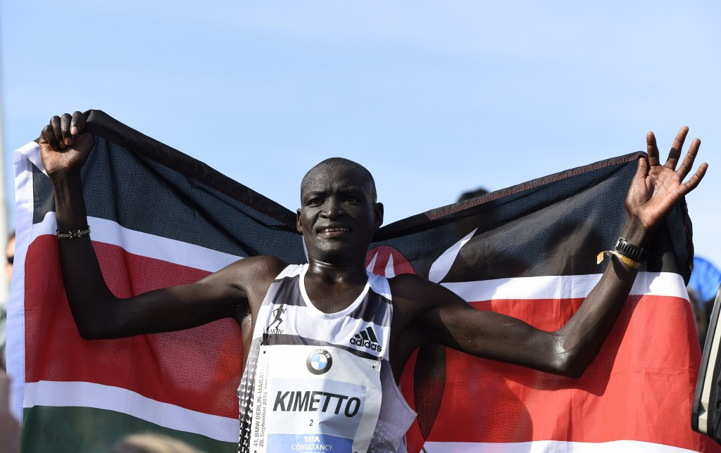 World record holder Dennis Kimetto heads a field of nine men who have lifetime bests under 2:05.30 ©Getty Images