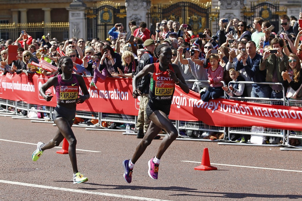 Kenya's Edna Kiplagat heads the women's field at this year's Boston Marathon on April 17 ©Getty Images