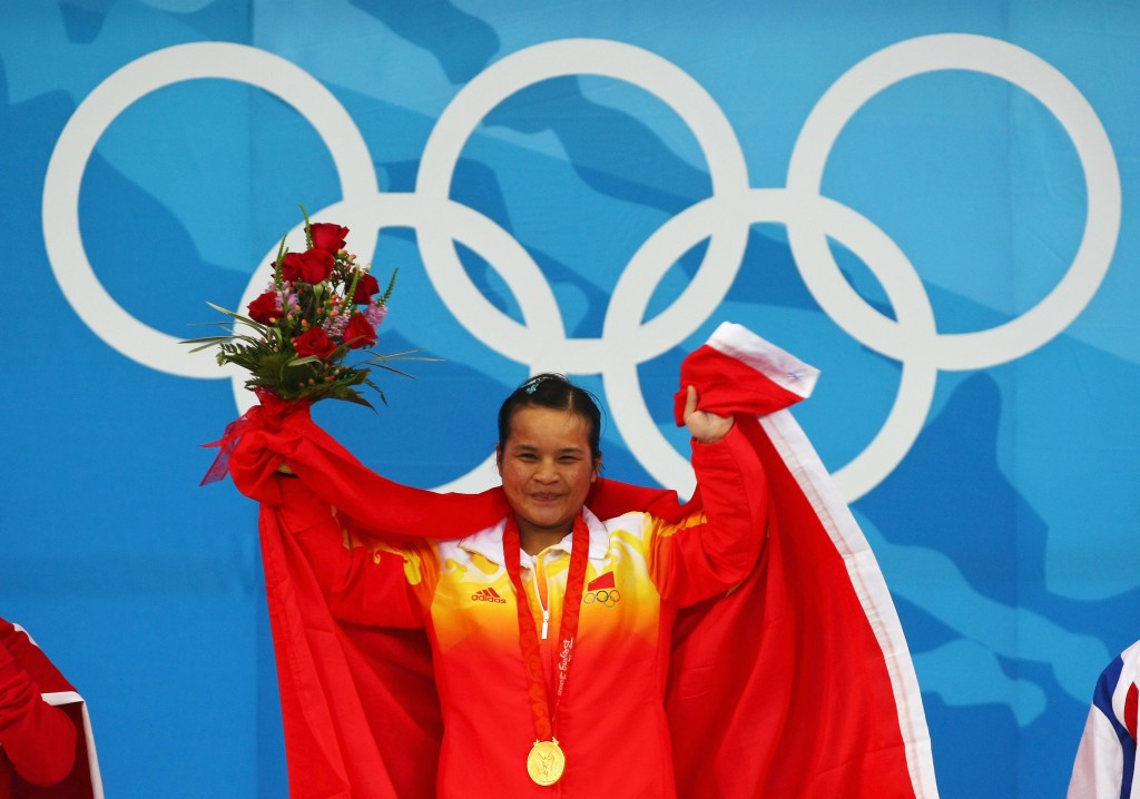 Chen Xiexia was among the trio of Chinese athletes stripped of gold medals by the IOC ©Getty Images