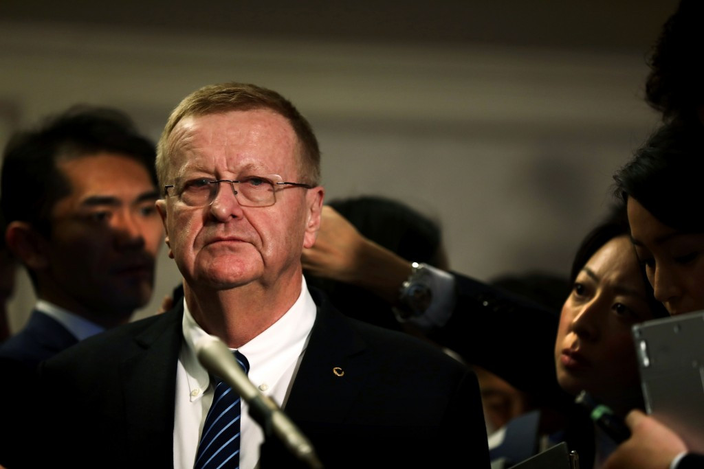 AOC President John Coates (pictured) has withdrawn the target for the Australian team to finish in the top five nations at the Summer Olympic Games ©Getty Images