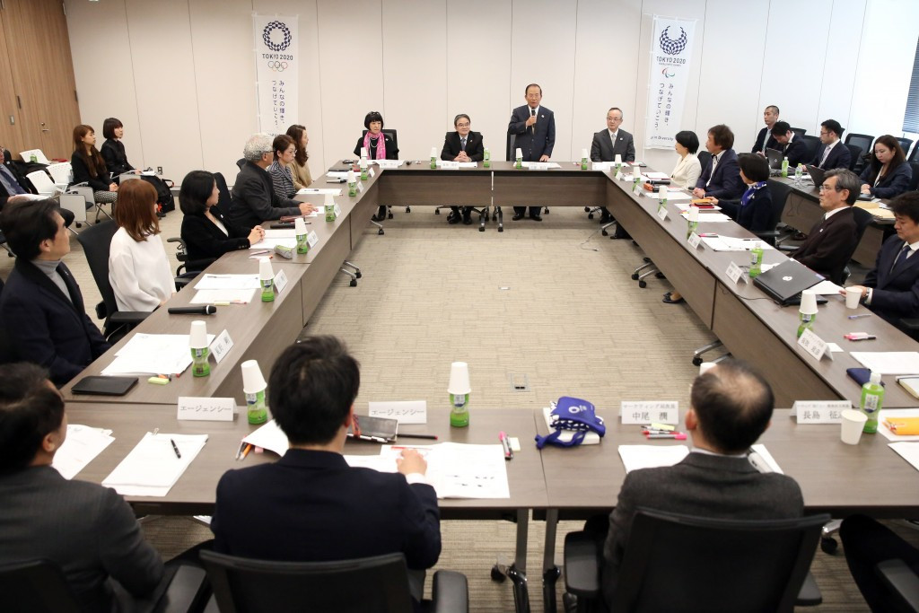 TheTokyo 2020 Mascot Selection Commission met for the first time today ©Tokyo 2020
