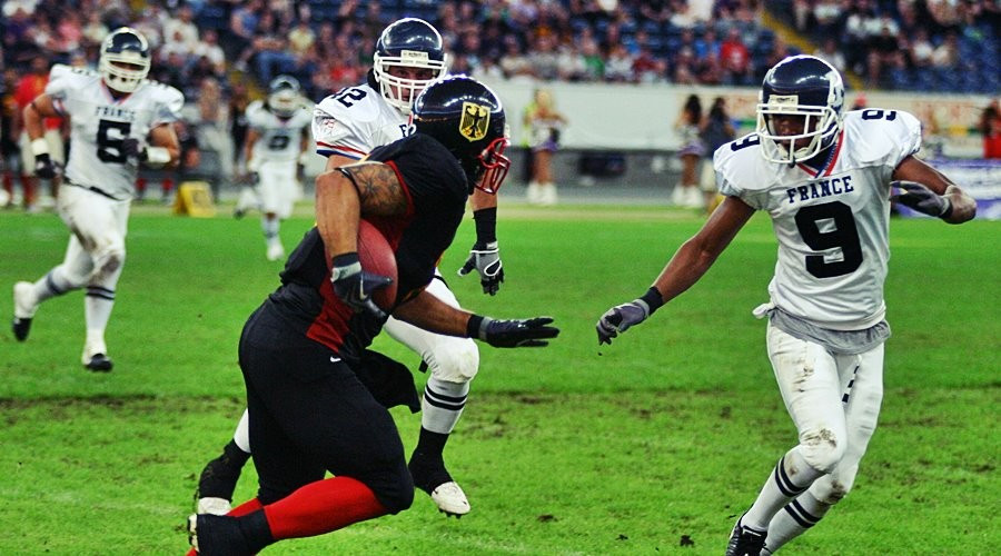 American football last featured as an invitational sport at the World Games in 2005 ©IFAF