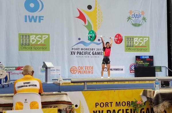 The Pacific Games: Day one of competition