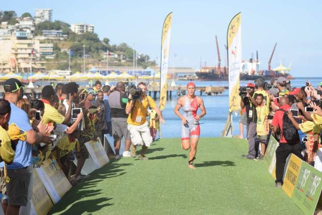 New Caledonia open Pacific Games in style with triathlon double