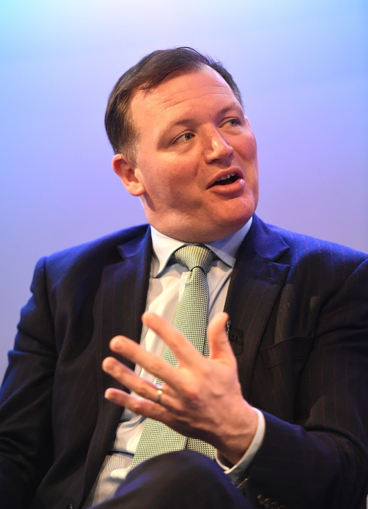 Damian Collins. chair of the Culture, Media and Sport Committee responsible for the controversial report which critcises IAAF President Sebastian Coe and former Tour de France champion Sir Bradley Wiggins ©Getty Images