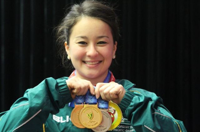 Australia secures historic first Pacific Games gold medal as favourite Toua falters on home soil in weightlifting