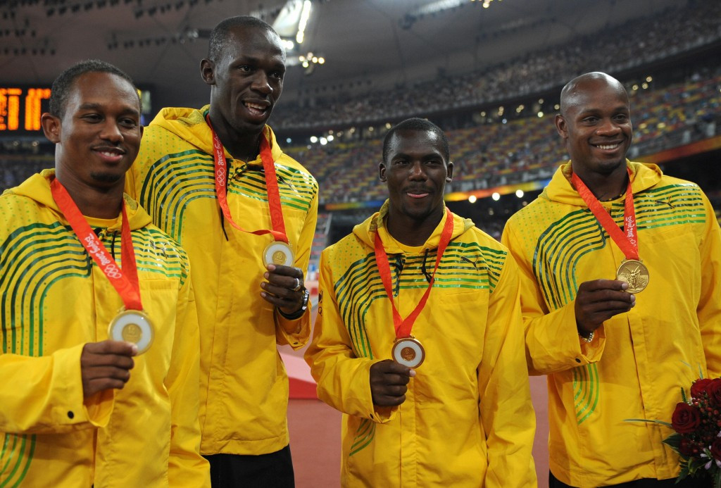 Jamaica have been stripped of their 4x100m relay gold medal from Beijing 2008 ©Getty Images