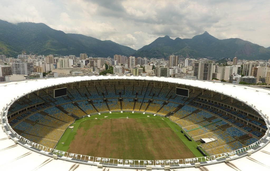 The power has been cut at the Maracanã Stadium ©Getty Images