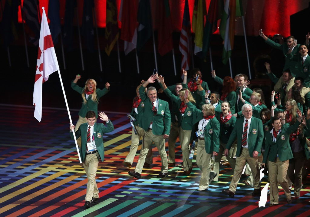 Only Northern Ireland are eligible to compete at the Commonwealth Games ©Getty Images