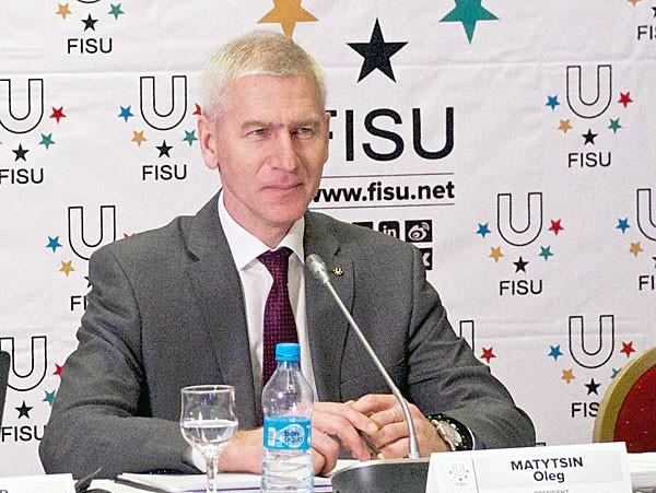 Oleg Matytsin once again defended the Kazan 2013 Universiade's doping controls ©FISU