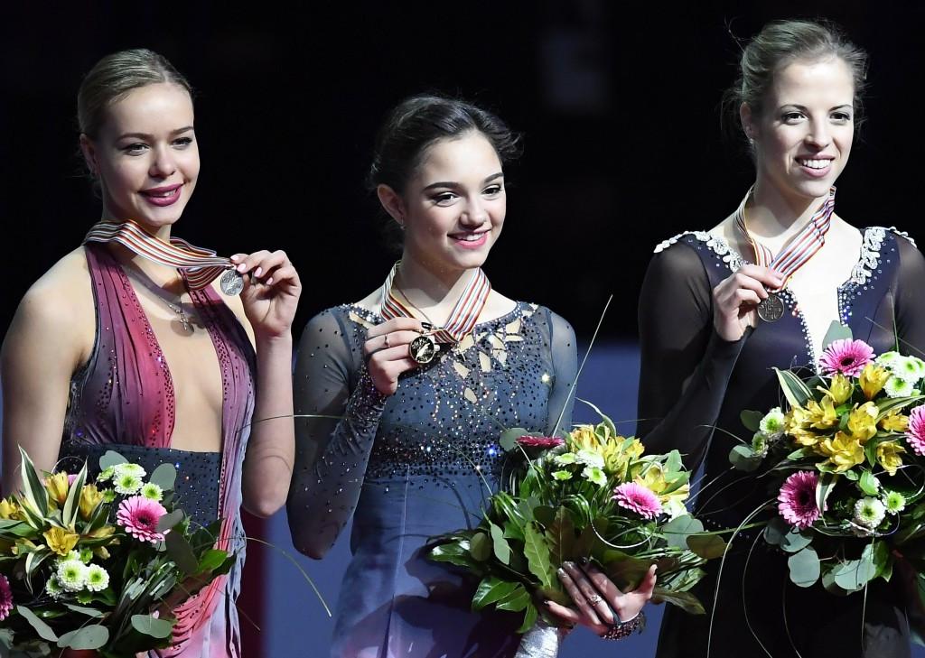 Medvedeva defends ladies title at European Figure Skating Championships