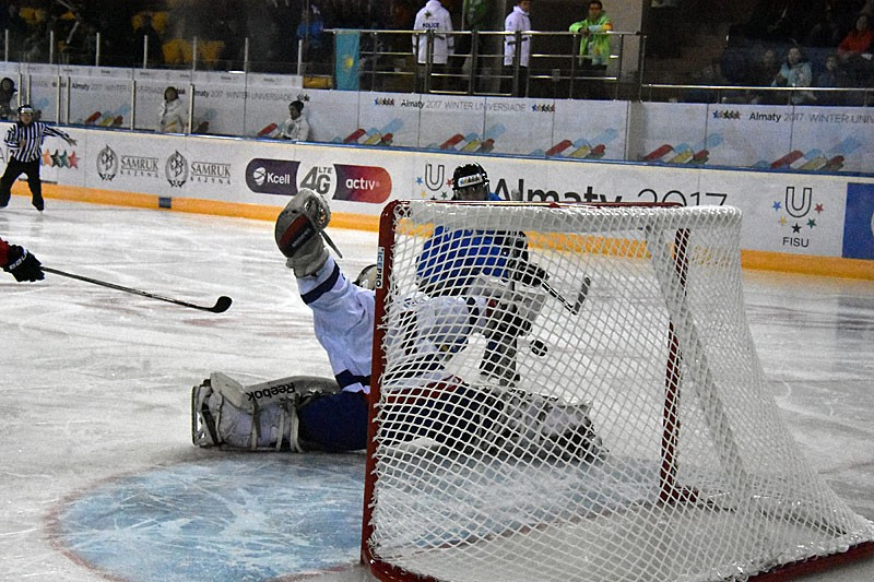 Kazakhstan were also dominant in the women's opening round as they beat Great Britain 11-0 ©FISU