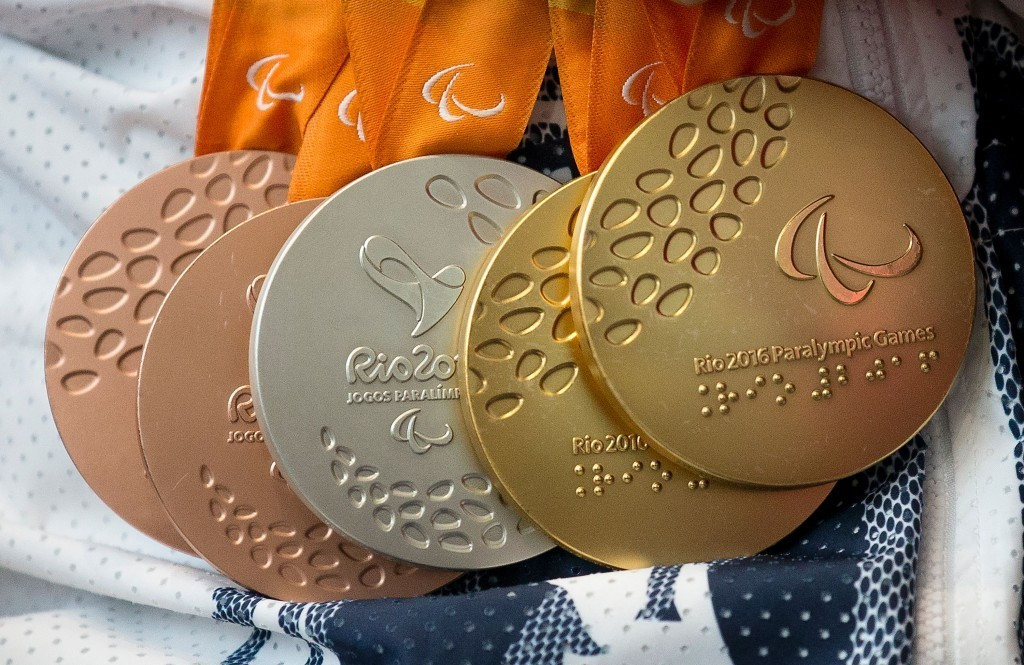 All medals from Rio 2016 were made with recycled materials ©Getty Images