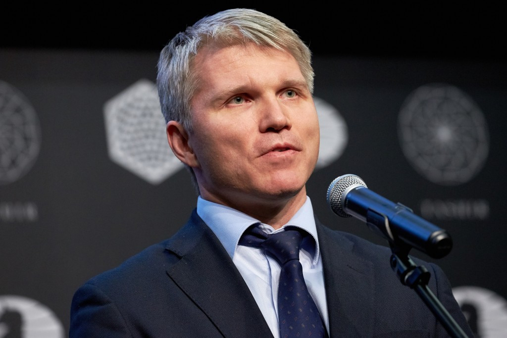 Russian Sports Minister Pavel Kolobkov has claimed the allegations against the country are groundless ©Getty Images
