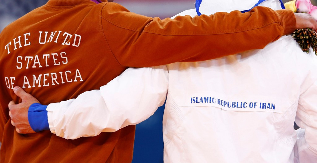 American wrestlers are reportedly banned from competing in Iran ©UWW