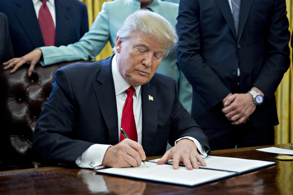 The ban is a response to United States' President Donald Trump's executive order on immigration ©Getty Images