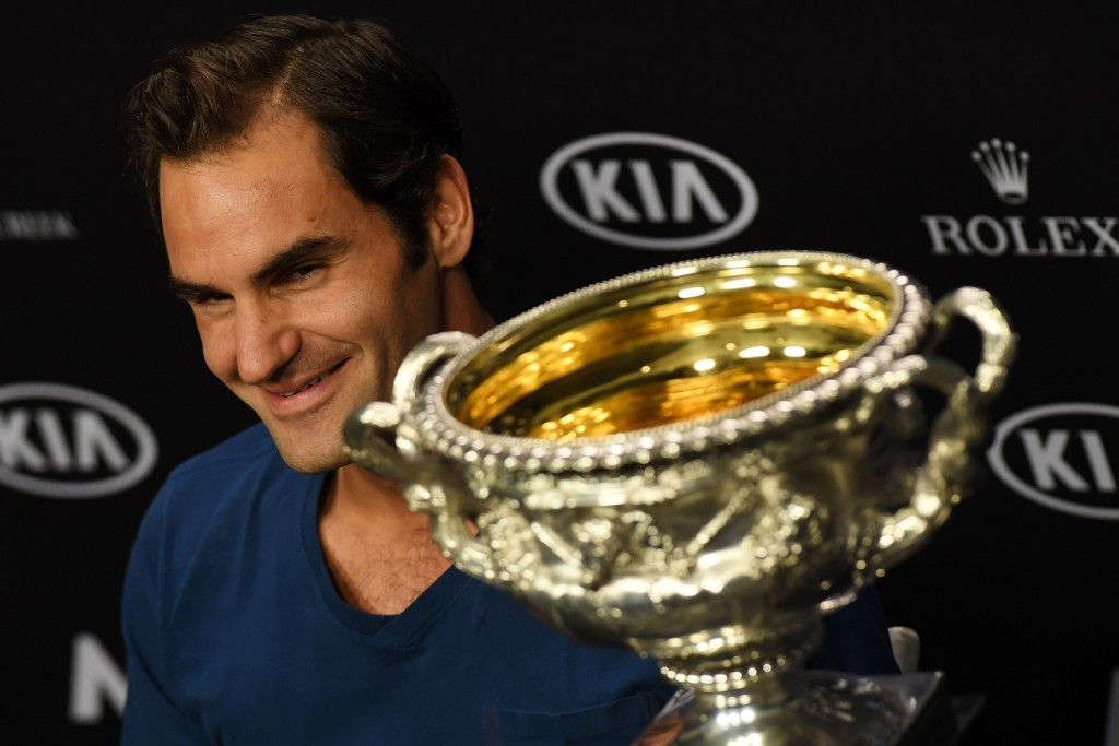 Roger Federer rolled back the years to win the Australian Open  ©Getty Images