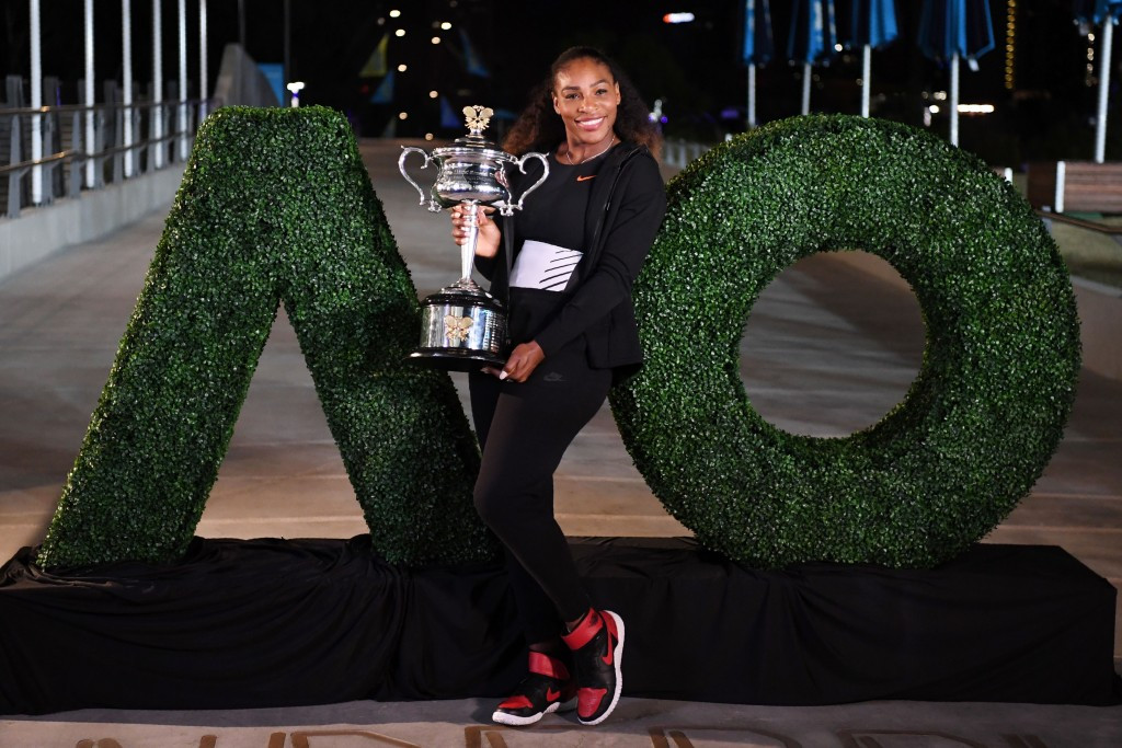Serena Williams captured another Grand Slam title in Melbourne ©Getty Images