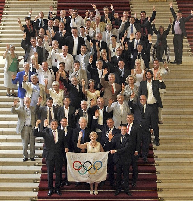 The Hungarian National Assembly voted overwhelmingly in favour of the Budapest 2024 bid, joining the nation's athletes in supporting the bid ©HOC