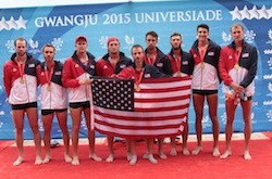 United States claim flagship men's eight title as Gwangju 2015 rowing action concludes