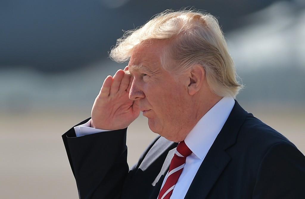 Donald Trump has endorsed the Los Angeles 2024 bid ©Getty Images