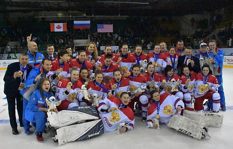 Russia retain Winter Universiade women's ice hockey crown at Almaty 2017