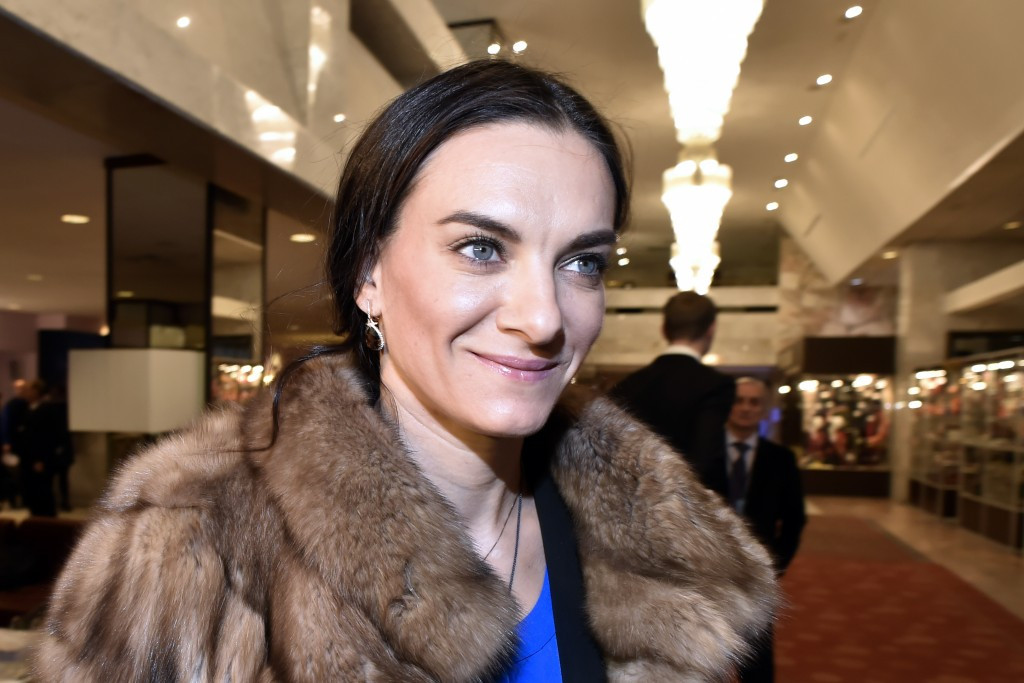 Yelena Isinbayeva will be an ambassador for the Winter World Military Games being held in Sochi from February 22 to 28 ©Getty Images